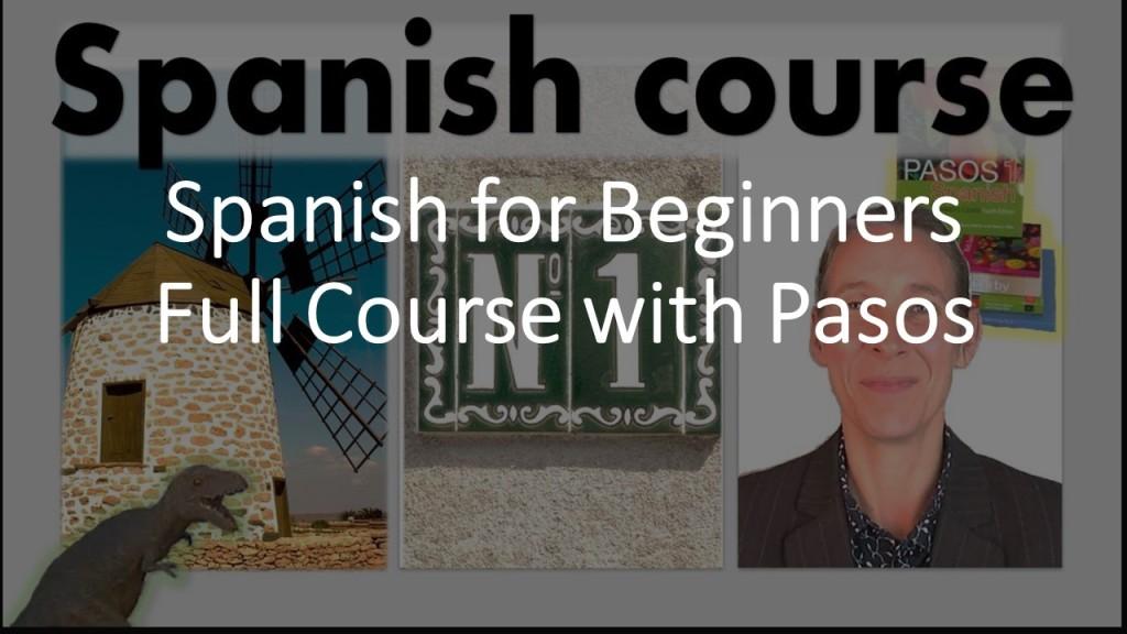 Beginners Spanish Course