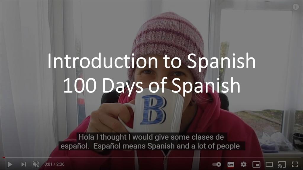 100 Days of Spanish